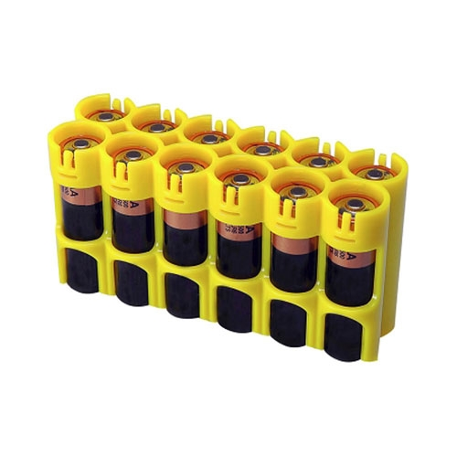 12 Pack Battery Caddy AA