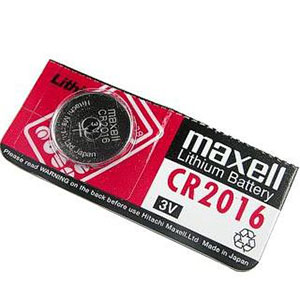 CR 2016 Lithium Battery