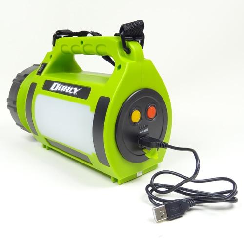 Dorcy 700 Lumen Rechargeable Power Bank Lantern