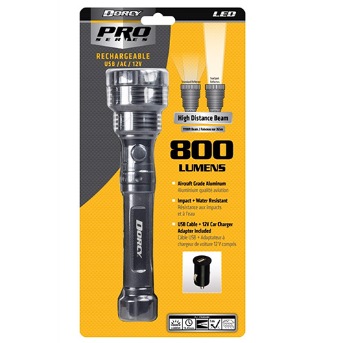 Dorcy Rechargeable LED Flashlight 414299