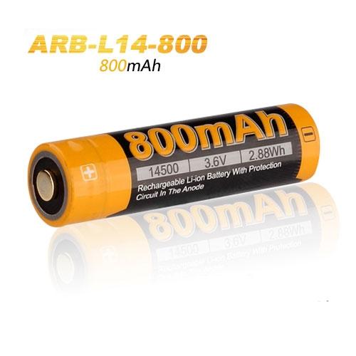 Fenix 14500 AA Li-ion Rechargeable Battery