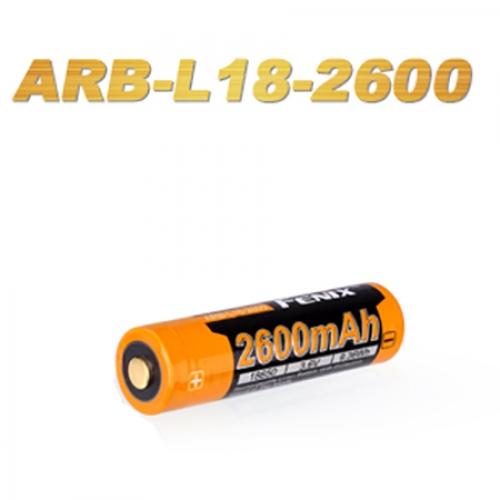Fenix 18650 Rechargeable Battery ARB-L18-2600