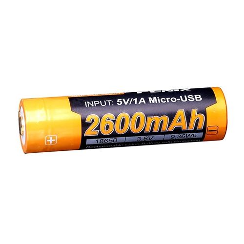 Fenix ARB-L18-2600U 18650 Battery