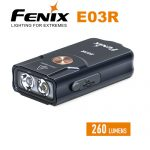 Fenix E03R Rechargeable Keychain Flashlight
