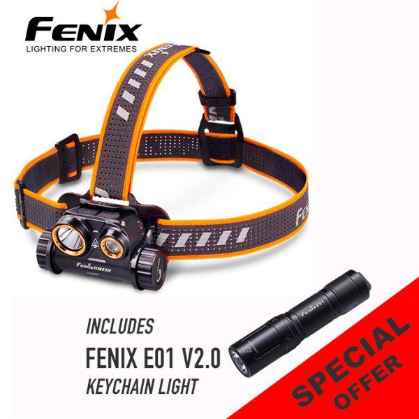 Fenix HM65R Rechargeable Headlamp Promo