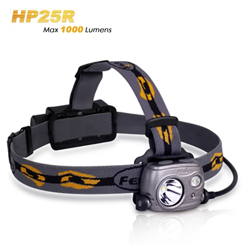 Fenix HP25R Rechargeable 1000 Lumen Headlamp