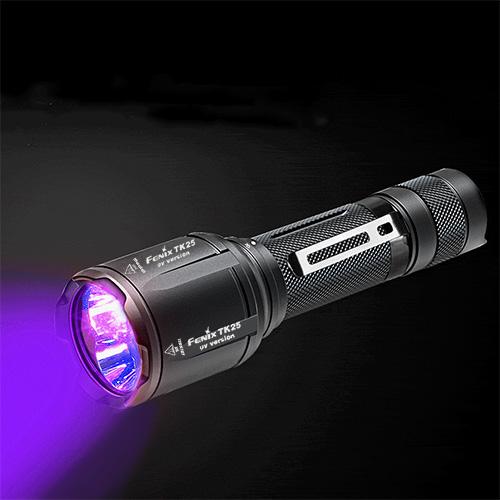 Fenix TK25 UV Flashlight