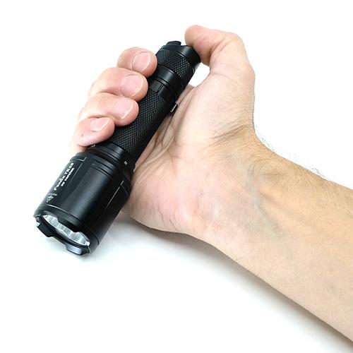 Fenix TK25 UV Flashlight includes holster
