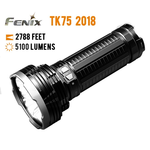 Fenix TK75 Rechargeable Flashlight
