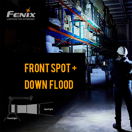 Fenix WT50R Rechargeable Searchlight