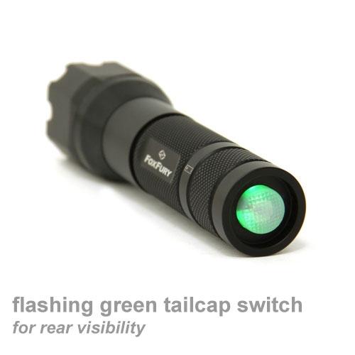 FoxFury SideSlide Flashlight and Helmet Light