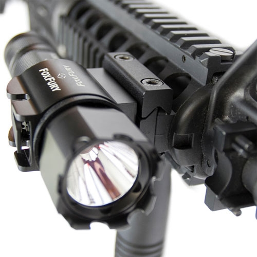 FoxFury SideSlide Picatinny Rifle-Shotgun Light