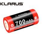 Klarus 16340 Battery 16GT 70UR