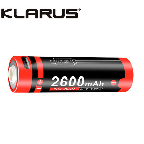 Klarus 18E26UR Rechargeable Battery