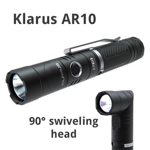 Klarus AR10 Adjustable Angle Flashlight