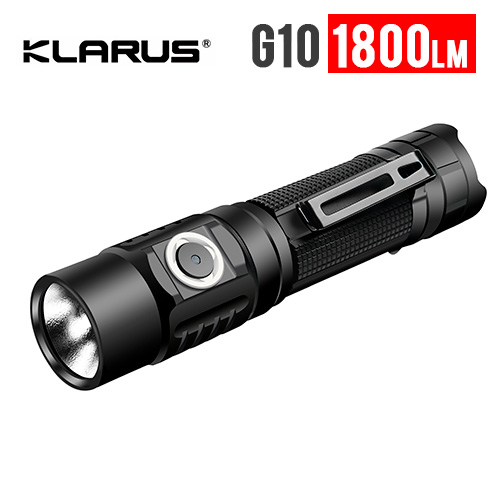 Klarus G10 Compact USB Rechargeable Flashlight