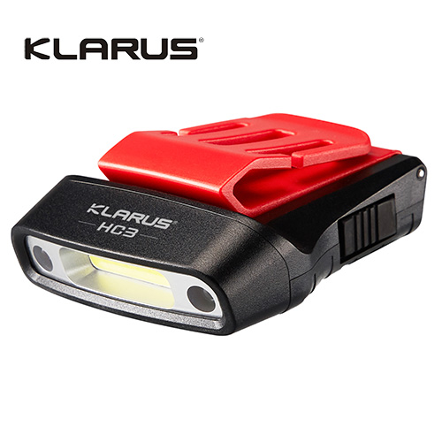 Klarus HC3 Visor Light with Motion Sensing