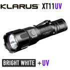 Klarus XT11UV Rechargeable Flashlight