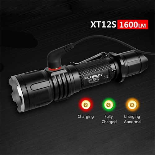 Klarus XT12S Tactical Flashlight