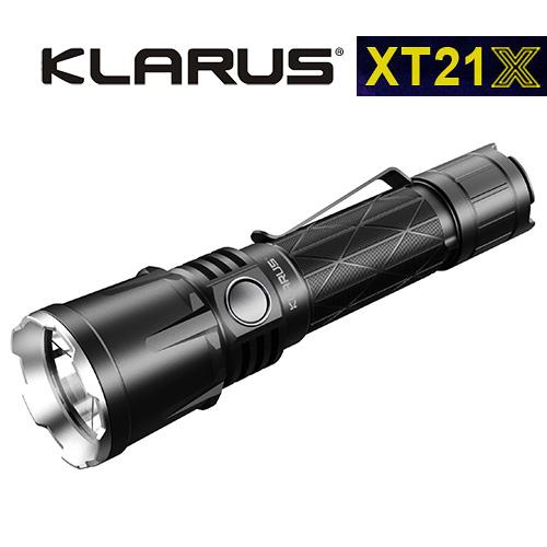 Klarus XT21X USB Rechargeable Flashlight