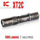 Klarus XT2C Tactical LED Flashlight - 900 lumens | Sale Price