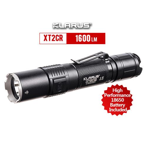 Klarus XT2CR Rechargeable Flashlight