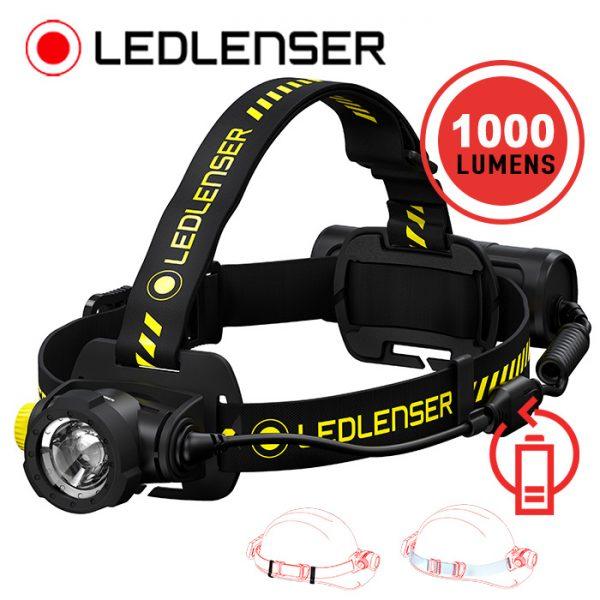 LED Lenser H7R Work Rechargeable Headlamp