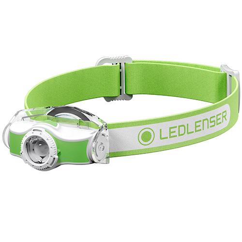 LED Lenser MH5 Rechargeable Headlamp Green