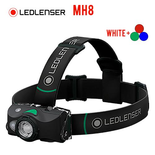 LED Lenser MH8 Rechargeable Headlamp