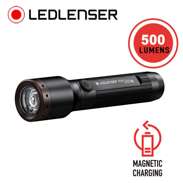 LED Lenser P5R Core Rechargeable Flashlight