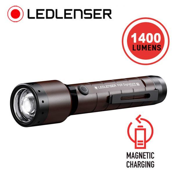 LED Lenser P6R Signature Rechargeable Flashlight