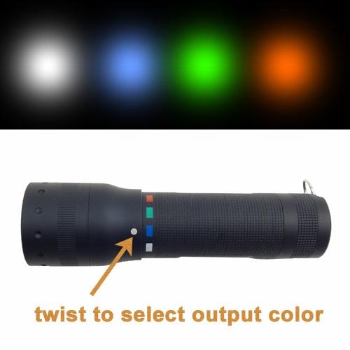 LED Lenser P7QC Flashlight