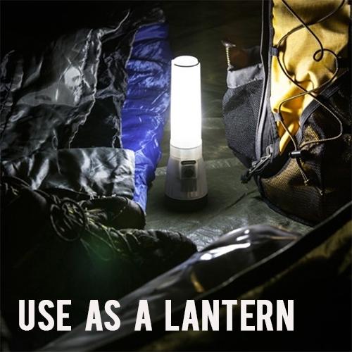 Life Gear Ar-Tech Flashlight Plus Lantern