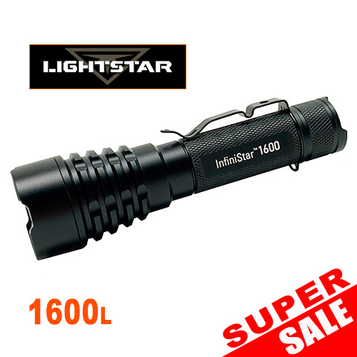 Lightstar Infinistar IS1600 Rechargeable Flashlight