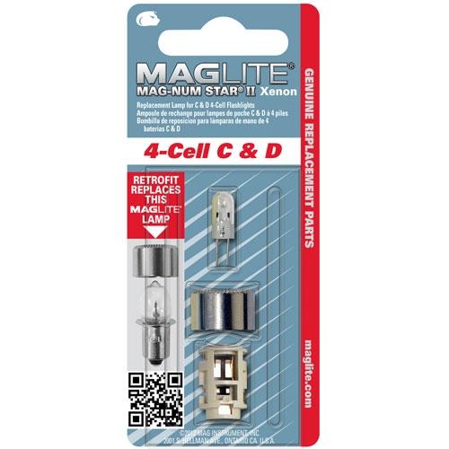 MagLite Mag-Num Star II Xenon Lamp LMXA401