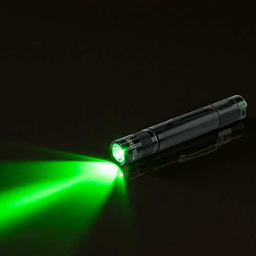 Maglite Spectrum Solitaire LED green