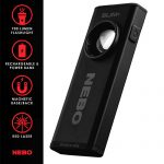 NEBO Slim Plus Rechargeable Pocket Light with Laser