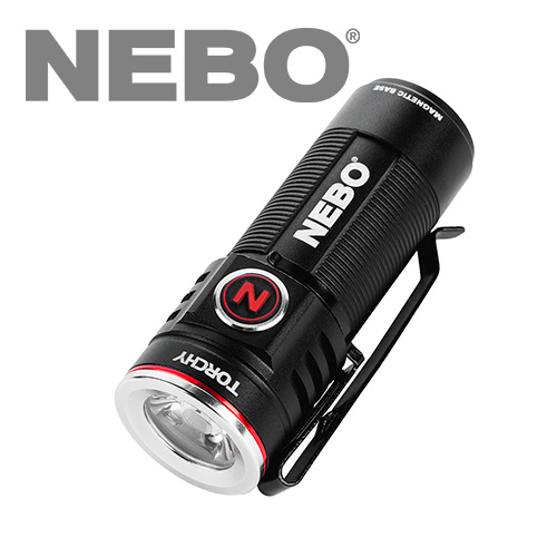 NEBO Torchy Ultra Compact Rechargeable Flashlight