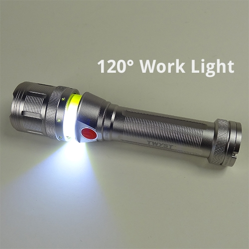 NEBO Twyst Flashlight Work Light Lantern