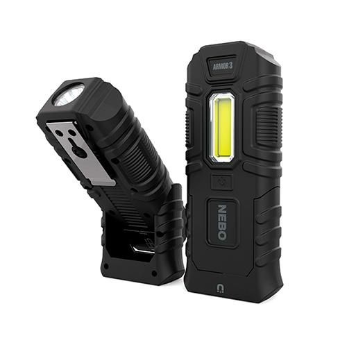 Nebo Armor 3 Flashlight and Work Light