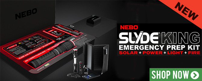 Nebo Emergency Kit - everything you need in an emergency in a handy grab and go case