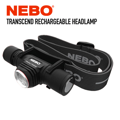 Nebo TRANSCEND Rechargeable Headlamp