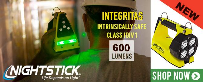 Night Stick Integritas Intrinsically Safe Lantern with Magnetic Base