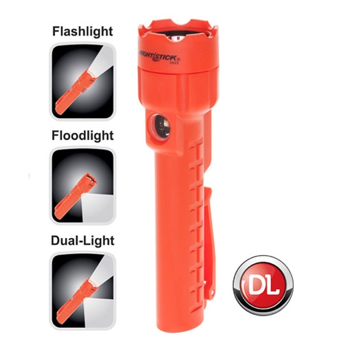 Nightstick Dual Light with Magnet