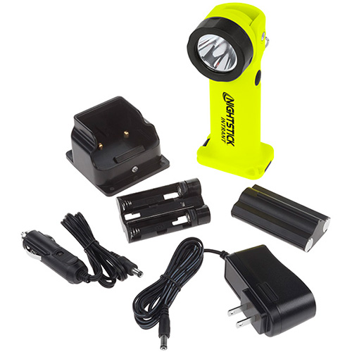 Nightstick Intrant Yellow Rechargeable