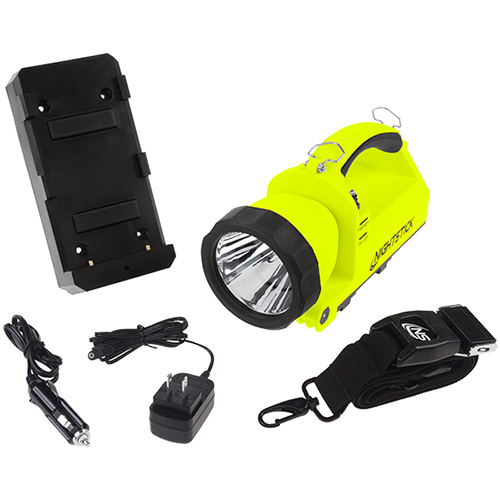 Nightstick Intrinsically Safe Dual Light Lantern XPR5586 yellow