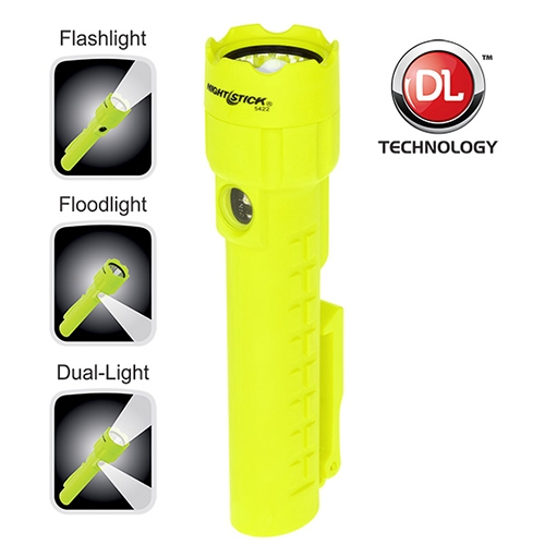 Nightstick Intrinsically Safe Dual-Light with Magnets