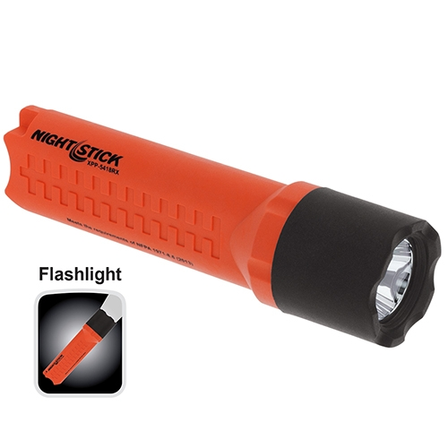 Nightstick Intrinsically Safe Flashlight XPP5418 red