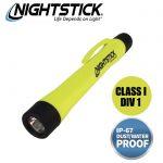 Nightstick Intrinsically Safe Penlight with Helmet Mount
