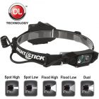 Nightstick Low Profile Dual-Light Headlamp NSP-4616